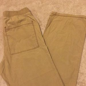 Boys Khaki straight fit